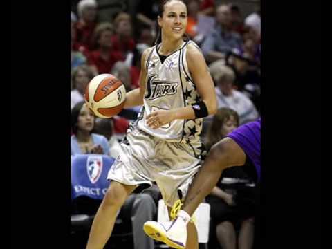 Becky Hammon is a fighter! WNBA 2009 highlights