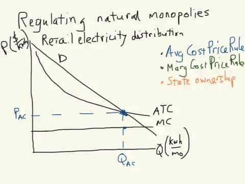 Efficiency In Natural Monopolies