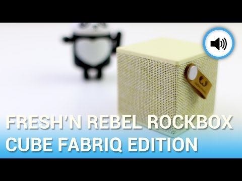 Fresh 'n Rebel Rockbox Cube Fabriq Edition, la recensione