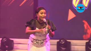 Nana Ama McBrown shares  her  testimony at Women in Worship