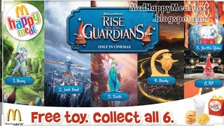 Happy Meal Rise of The Guardians