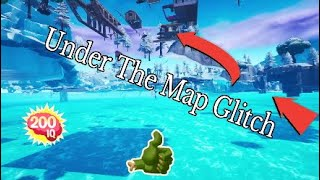 Fortnite How To Glitch Under The Map in Replay Mode