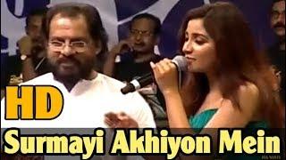 SHREYA GHOSHAL LIVE - Surmayi Akhiyon Mein Nanha Munha Ek Sapna - with Yesudas Live - HD