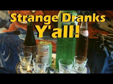 Strange Beverages Taste Test! - Aloe Vera Drink, Coconut Water Pulp, Sangria Senorial, Apple Pop