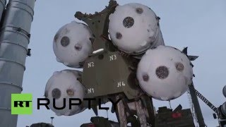 Russia: Anti-aircraft unit take up defensive positions in Novaya Zemlya
