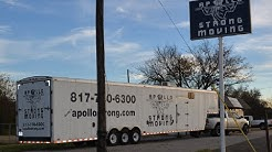 Long Distance Moving; Dallas - Fort Worth Texas - Large Moving Trucks