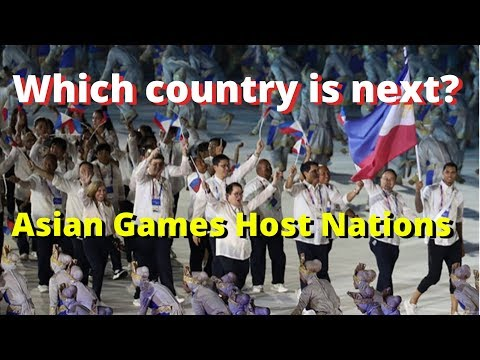 Asian Games Host Nations
