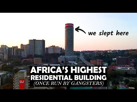 WE SLEPT IN AFRICA'S HIGHEST RESIDENTIAL BUILDING   Ponte Tower City Apartments