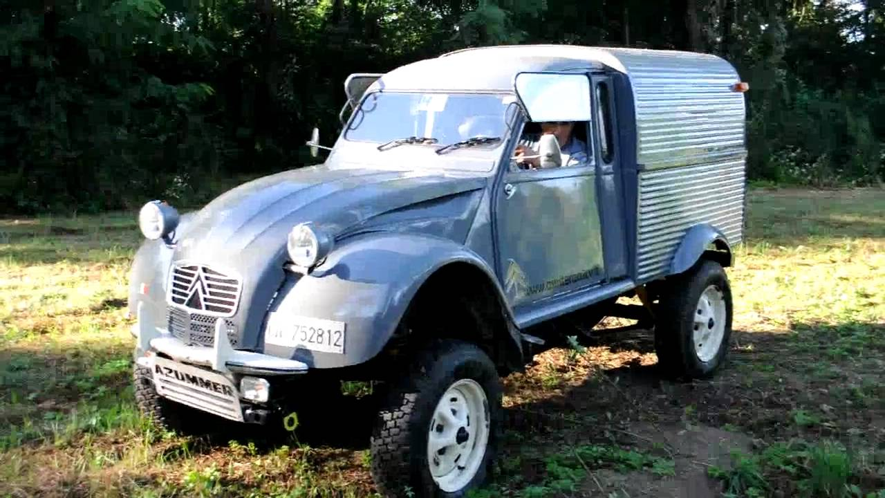 2cv azummer 2cv defender engine youtube. Black Bedroom Furniture Sets. Home Design Ideas