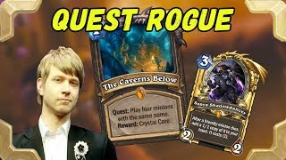 Savjz plays a Quest rogue in legend (Kobolds and Catacombs)
