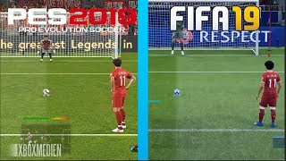 FIFA 19 vs PES 2019 Penalty Kicks (Xbox One, PS4, PC)