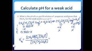chy 115 acid base equilibrium calculation problems