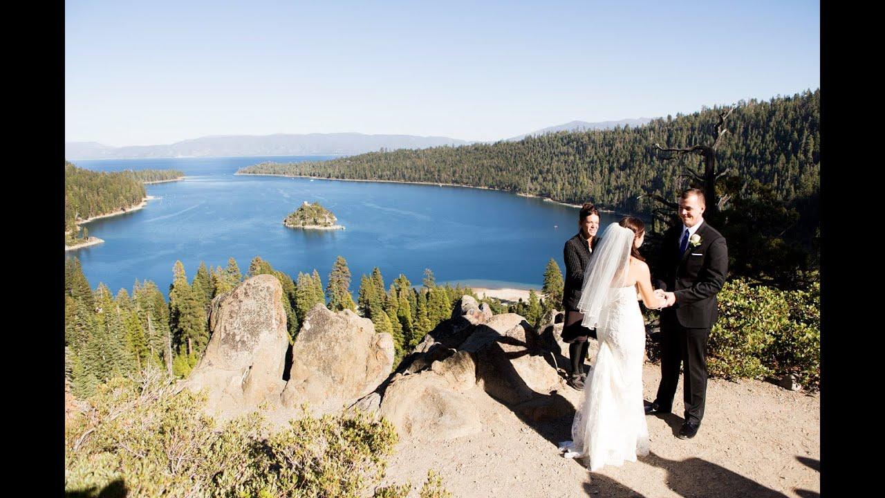 Emerald Bay Wedding Lake Tahoe Ca