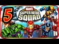 Marvel Super Hero Squad Walkthrough Part 5 (PS2, PSP, Wii) Mission : Hulk (1)