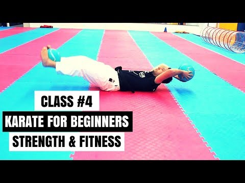 Martial Arts for Beginners – Lesson 4  Karate Fitness Drills