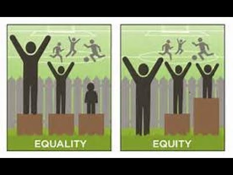 Equality Of Opportunity And Equality Of Outcome!!!!!