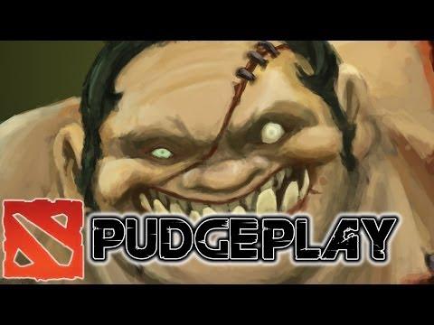 видео: dota 2 pudgeplay - Пудж рождён, чтобы хукать!