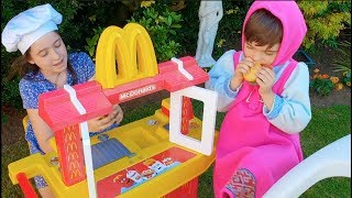 McDonald's  Pretend Play with Kitchen Toy For Kids