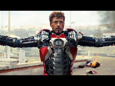 Iron Man All Suit Up Scenes (2008-2019) Robert Downey Jr. Movie HD [1080p]
