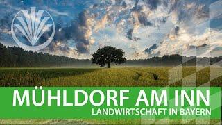 Landwirtschaft in Bayern: Landkreis Mühldorf in Oberbayern