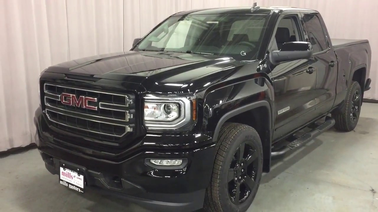 Gmc Elevation 2017 >> 2018 GMC Sierra 1500 4WD SLE Double Cab Elevation 20 Inch ...