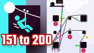 Zipline Valley Game Walkthrough Part 4 level 151-200