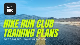 Nike Run Club Half Marathon Training and Get Started Training Plans (NEW GUIDED PROGRAMS!) screenshot 3