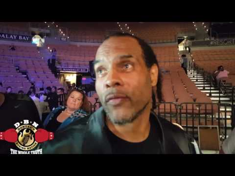 KOVALEVS TRAINER REACTS TO KOVALEV LOSING TO WARD