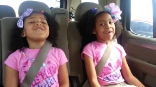 Girls singing Girl on Fire