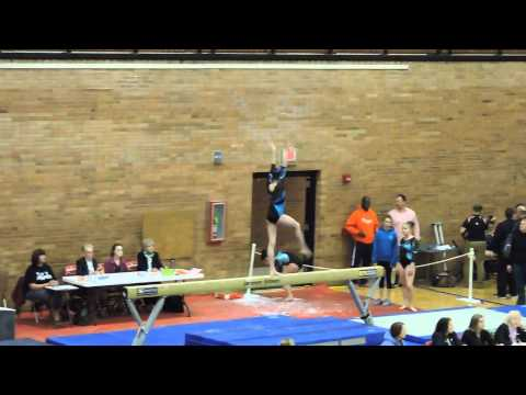 Emily Carey Level 9~Northeast Gymnastics Academy~2015 Pennsylvania State Championships~Beam