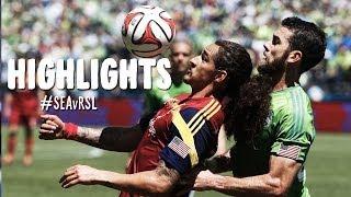 HIGHLIGHTS: Seattle Sounders vs. Real Salt Lake | May 31, 2014