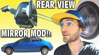 WALLED SUBS + Rear-View Mirror? Installing Dash & Backup Camera LCD Screen | How To Install N3 Cam