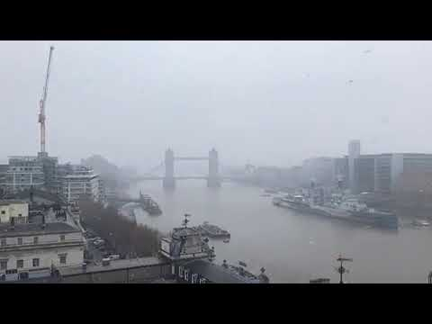Snow in LONDON: Capital hit as latest Met Office weather forecast gives warnings across UK