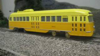 HO PCC Streetcars Con-Cor