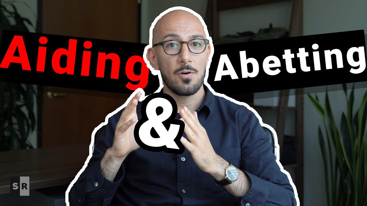 aiding and abetting liability
