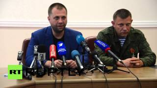 Ukraine: Borodai resigns as DNR/DPR prime minister