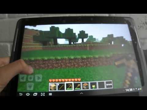 Как сделать в майнкрафте портал в город на планшете видео