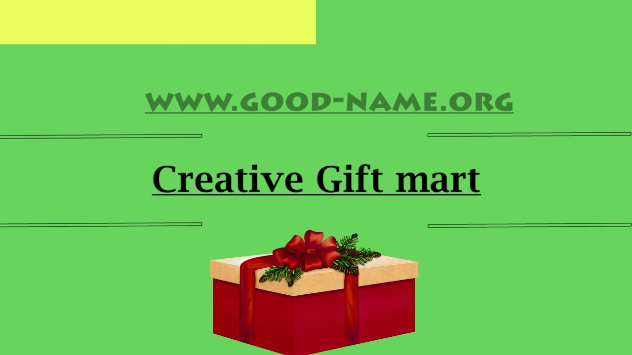 Catchy Creative Gift Shop Name Ideas Youtube