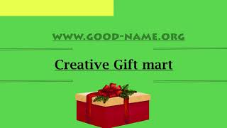 Catchy & Creative Gift Shop Name Ideas