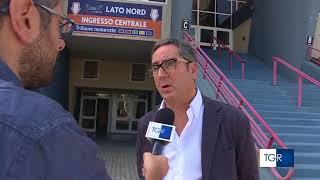 11-09-2018: #barivolley2018 - Il servizio sulla Pool C al PalaFlorio al TgR Puglia