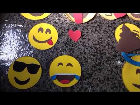 Como Fazer Emojis De E V A Youtube