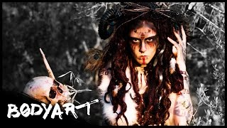 AMAZON-CANNIBAL-WOMAN || FACEPAINTING