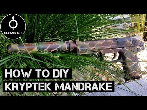 DIY Kryptek Mandrake Camouflage   Tutorial