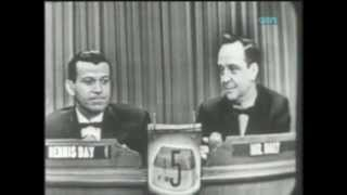 What's My Line 23 JAN 55 Special Guest Dennis Day