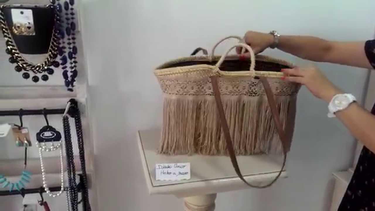 Capazos flecos hechos a mano youtube - Como adornar cestas de mimbre ...