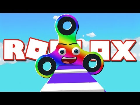 FIDGET SPINNERS IN ROBLOX!