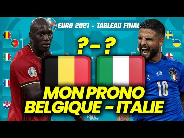 PRONOSTIC EURO 2021 Belgique Italie : Pourquoi la Belgique va éliminer l'Italie ?