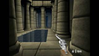 Project64 - N64 Goldeneye - Bonus Level 20 - Egyptian