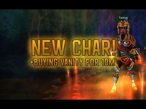 Arcane Legends - Creating New Char + Buying Vanity For 10m Gold!