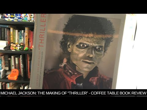 Michael Jackson The Making Of Thriller Coffee Table Book